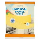 Tesco Universal Sponge Cloths 5 pcs