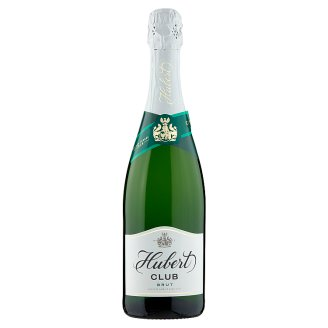 Hubert Club Brut Quality Sparkling White Wine 0.75 L
