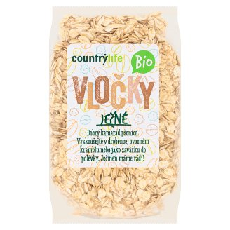 Country Life Organic Barley Flakes 250 g