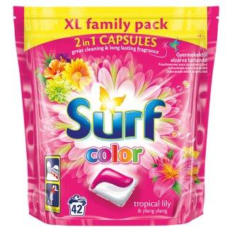 Surf Color Tropical Lily & Ylang Ylang 2in1 gélové kapsuly na pranie 42 praní 1012 g