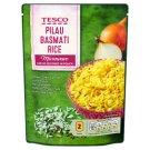 Tesco Predvarená ryža dlhozrnná lúpaná Basmati s cibuľou 250 g