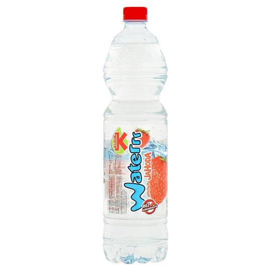 Kubík Waterrr Príchuť jahoda nesýtený nápoj 1,5 l