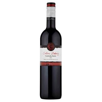 VPS Chateau Zumberg Frankovka modrá akostné víno odrodové červené suché 0,75 l