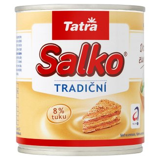 Tatra Salko Concentrated Milk with The Addition of Sucrose 397 g