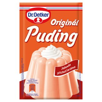 Dr. Oetker Originál Puding Strawberry Aroma in Powder 37 g