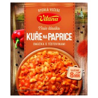 Vitana Máme chuť na... Chicken on the Red Pepper Sauce with Pasta 167 g