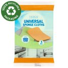 Tesco Universal Sponge Cloths 3 pcs