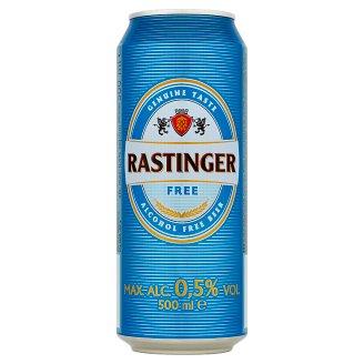 Rastinger Free nealkoholické pivo svetlé 500 ml