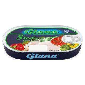 Giana Filety zo sleďa v paprikovej omáčke 170 g
