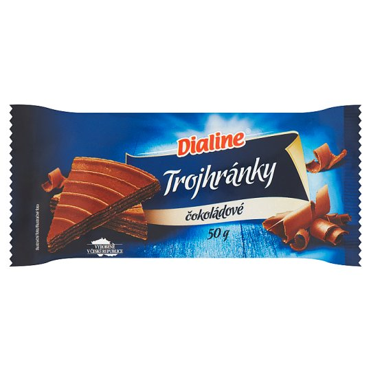 Dialine Triple Edge with Chocolate Flavour 50 g
