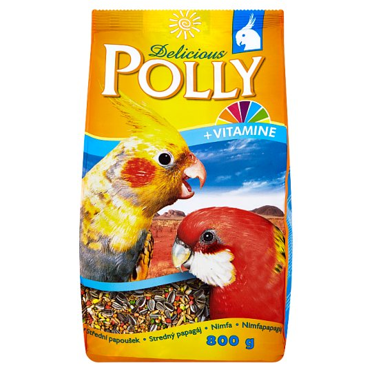 Polly Delicious Complete Food for Cockatiels 800 g