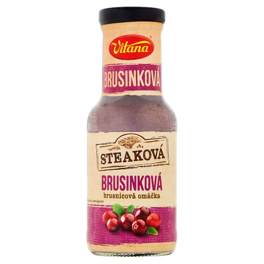 Vitana Steak Cranberry Sauce 250 ml