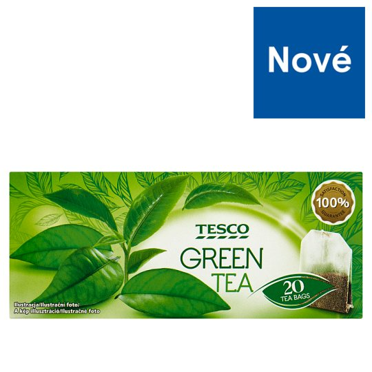 Tesco Green Tea 20 x 1.3 g