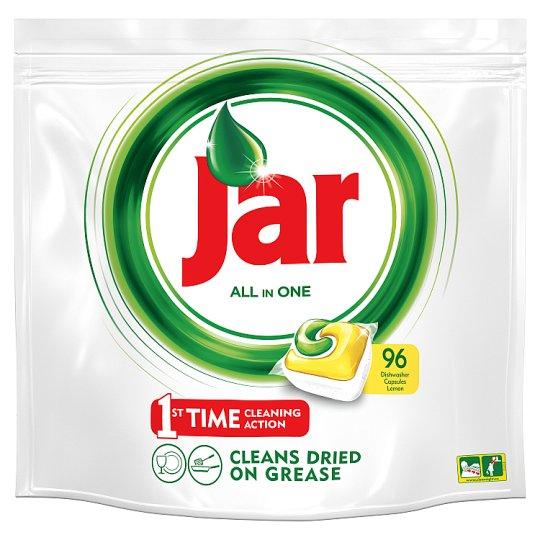 Jar All In One Lemon kapsuly do automatickej umývačky riadu 96 kusov