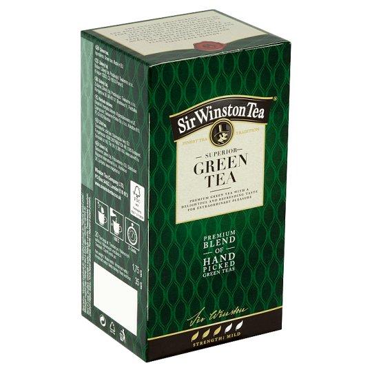 Sir Winston Tea Green Tea, 20 vrecúšok, 35 g