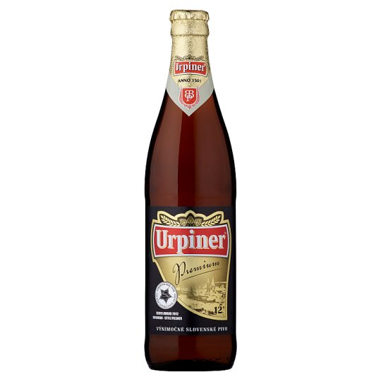 Urpiner Premium 12° Light Lager 500 ml