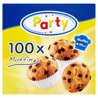 Select Party Muffin Baking Cups 50 x 27 mm 100 pcs