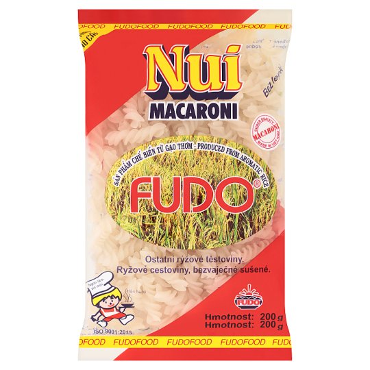 Fudo Nui Macaroni Other Rice Pasta Spirals 200 g