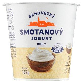 Milsy Bánovecký smotanový jogurt biely 145 g