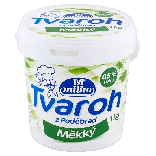 Milko Tvaroh z Poděbrad odtučnený roztierateľný 1 kg