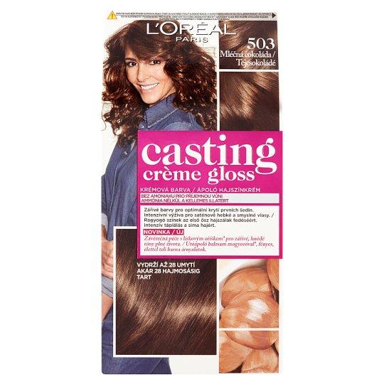 image 1 of L'Oréal Paris Casting Crème Gloss Milk Chocolate 503