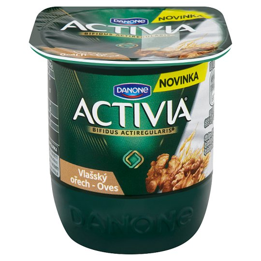 Danone Activia Yoghurt Walnut - Oats 125 g
