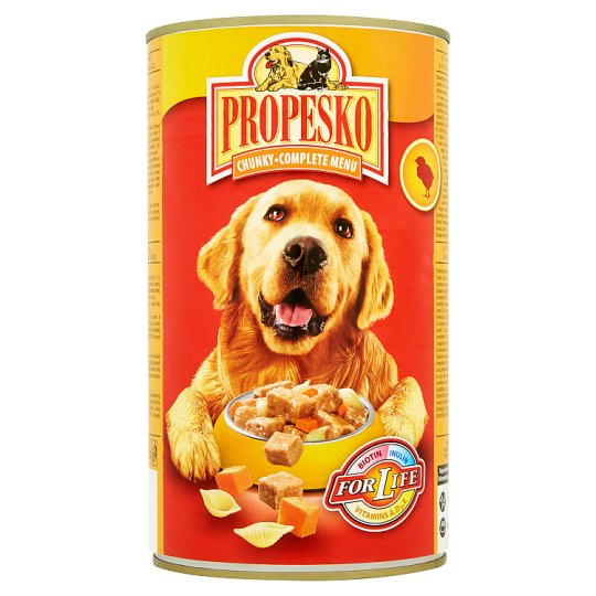 Propesko Pieces of Chicken, Pasta and Carrot 1240 g
