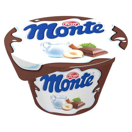 Zott Monte Milk Dessert Chocolate with Hazelnuts 150 g