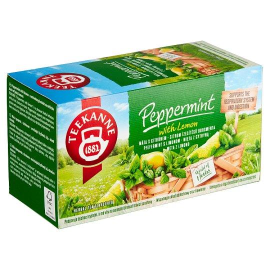 TEEKANNE Peppermint with Lemon, bylinný čaj, 20 vrecúšok, 30 g