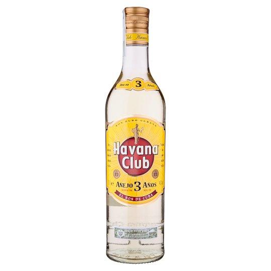 Havana Club Añejo 3 Años Rum from Cuba 0.7 L