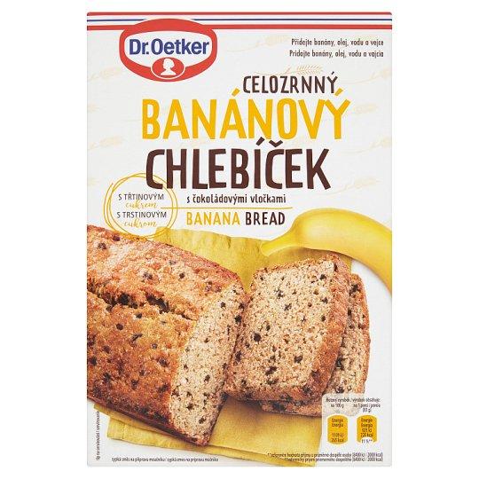 Dr. Oetker Celozrnný banánový chlebíček s čokoládovými vločkami 500 g