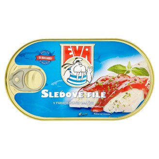Eva Herring Fillets in Tomato Sauce 170 g