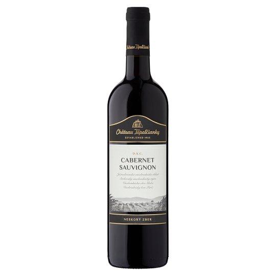 Château Topoľčianky Cabernet Sauvignon slovenské akostné víno D.S.C. suché červené 0,75 l