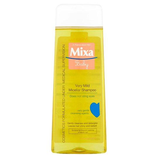Mixa Baby Veľmi jemný micelárny šampón 250 ml