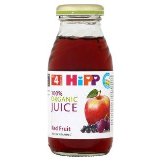 HiPP 100% Bio šťava z červených plodov ovocia 0,2 l
