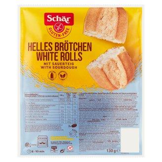 Schär White Rolls Gluten Free 130 g