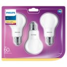 Philips LED Bulb 8 W (60 W) E27 Warm White 3 pcs