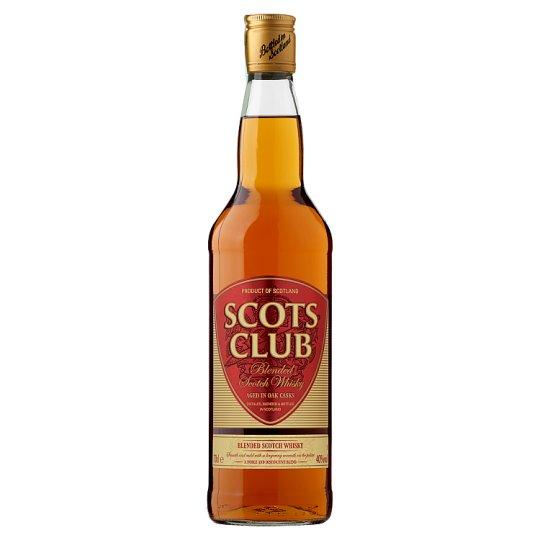 Scots Club Blended Scotch Whisky 0.7 L