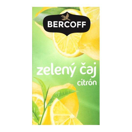 Bercoff Klember Green Flavoured Green Tea with Lemon 20 x 1.5 g