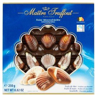 Maître Truffout Seashells Chocolate Bonbons 250 g