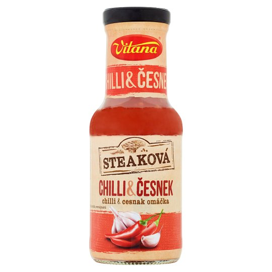 Vitana Steak Sauce Chilli & Garlic 250 ml