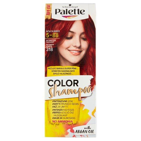 Schwarzkopf Palette Color Shampoo farba na vlasy Intenzívny Červený 5-88 (318)