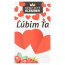 Bercoff Klember I Love You Forest Strawberry Cranberry Flavoured Fruit Tea 20 x 2.25 g