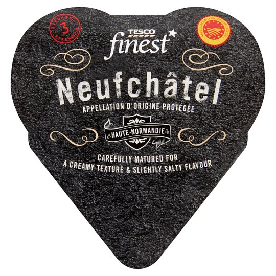Tesco Finest Mäkký zrejúci polotučný syr s plesňou na povrchu 200 g