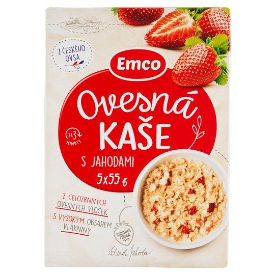 Emco Porridge with Strawberries 5 x 55 g