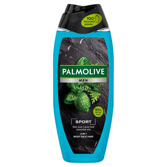 9b43f53ac Palmolive Men Sport 3 in 1 Shower Gel for Body, Face and Hair 500 ml