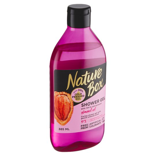 Nature Box Shower Gel Almond Oil 385 ml