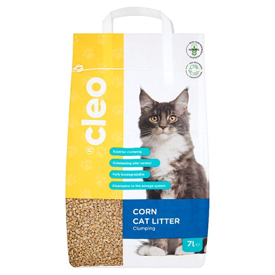 Cleo Corn Cat Litter 7 L