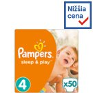 Pampers Sleep & Play Size 4 (Maxi), 50 nappies