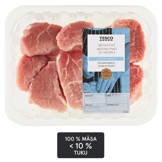 Tesco Pork Medalions 360 g